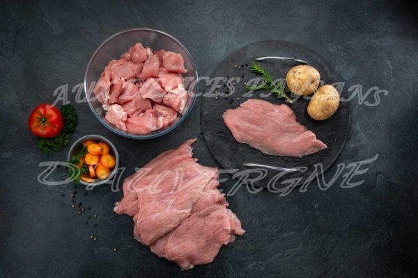 2kg de veau blanquette