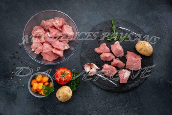 2x1kg de blanquette de mitonnée de veau