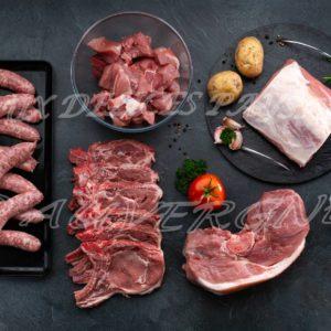 5kg de porc saucisses