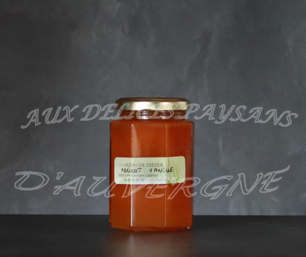 Confiture abricot vanille 300g