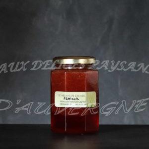 Confiture de fraise 300g