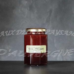 Confiture de fraise framboise 300g