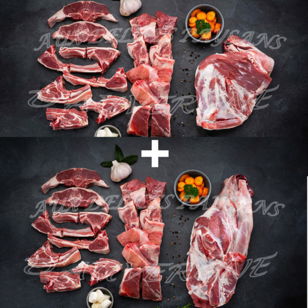 Demi-agneau 8kg