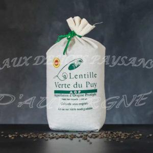 Lentilles vertes du Puy 1kg