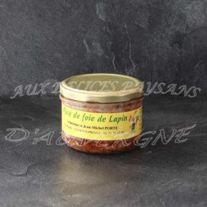 Pâté de foies de lapin 200g