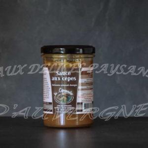 Sauce aux cèpes 180ml