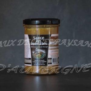 Sauce aux morilles 180ml